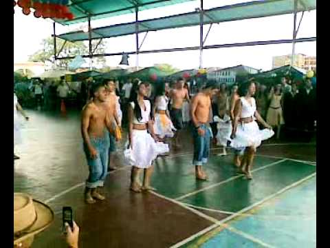 Baile Tambor Encuentro Gastronomico UE Nuestra Señora de Lourdes