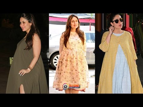 Kareena Kapoor Pregnant 2016 Photos with Kareena Kapoor Baby Bump Pictures