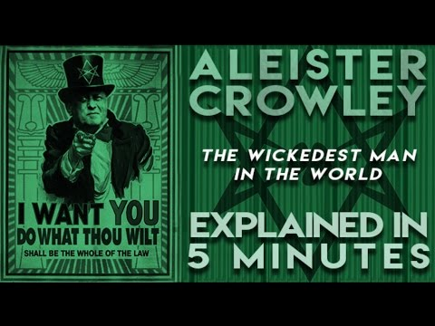 Aleister Crowley the Wickedest Man in the World Explained in 5 Minutes