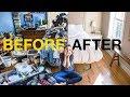 EXTREME KONMARI METHOD DECLUTTERING   Before & After