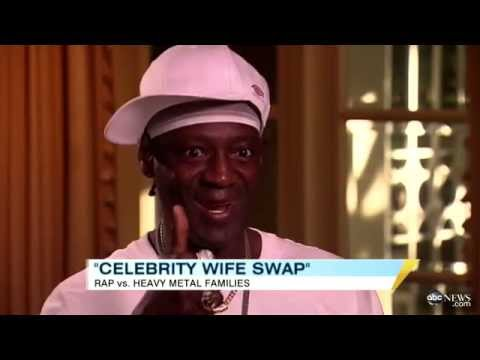 Xxx Mp4 Flavor Flav On Celebrity Wife Swap Hip Hop Legend Dee Snider Discuss Living Together On Show 3gp Sex