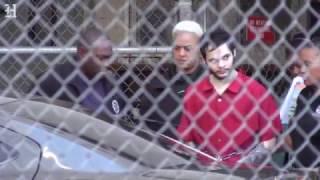 Esteban Santiago, acusado de matanza en aeropuerto, es llevado a tribunal federal para ser procesado