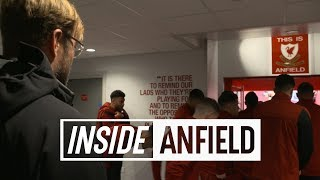 Inside Anfield: Liverpool 3-0 Southampton | TUNNEL CAM