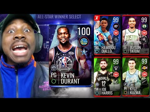 Xxx Mp4 100 OVR MVP DURANT 99 OVR ALL STAR WINNERS NBA Live Mobile 19 Season 3 Ep 49 3gp Sex