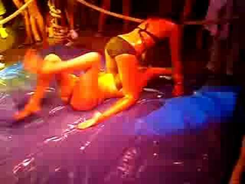Xxx Mp4 Girlbar Oil Wrestling Round One 3gp Sex