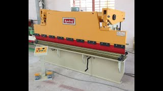 Mini Hydraulic Press Brake 2540X2mm MS Bending (Rear Cylinder With Electrical Panel Board)