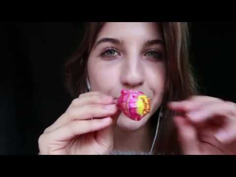 [ASMR] Lollipop Licking & Tracing ~ Fluffy Mic!