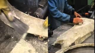 CJTA 2015 P2 Fabricación de toma de aire y aletas de fibra