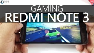 Xiaomi Redmi Note 3 (2GB RAM) Gaming Review (India)