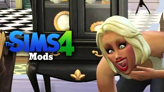 The Sims 4 - Big BOOBS Mod (+Nude Mod) : The Sims 4 (Mods) Funny Moments #2