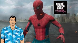 SPIDER MAN HOMECOMING GTA VICE CITY THEME COVER