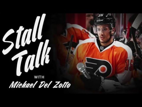 Michael Del Zotto talks with Captain Claude Giroux about various lifestyle topics.