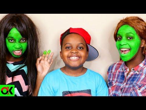 Xxx Mp4 GREEN FACE Shiloh And Shasha Onyx Kids 3gp Sex