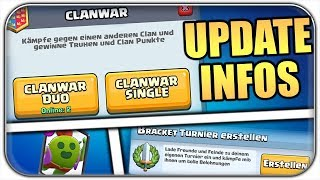 CLAN WARS KOMMT, NEUES TURNIERSYSTEM, BALANCE UPDATES | Clash Royale Lets Play Deutsch German