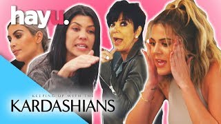 Best Kardashian Fights Part 1 | Keeping Up With The Kardashians