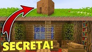 MINECRAFT : A CASA MAIS SECRETA DO MINECRAFT!!  ( CASA GIGANTESCA ! )
