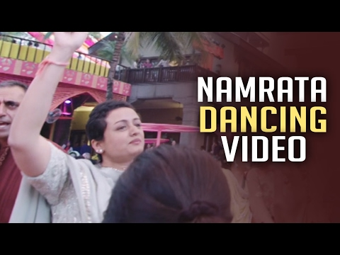 Super Star Mahesh Babu Wife Namrata Shirodkar Dancing Video   TSR Grandson Keshav Wedding Party