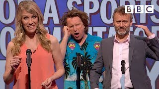 Unlikely things for a sports commentator to say | Mock the Week - BBC