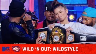 Zendaya & Ne-Yo Take Home the Championship Belt | Wild 'N Out | #Wildstyle