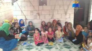 تقرير معهد أبي الفداء في مخيمات أطمة
