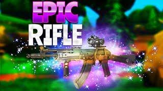 EPIC RIFLE!  (Fortnite Battle Royale)