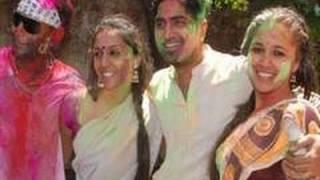 Shweta Salve and Narayani Shastri's in a Holi Party
