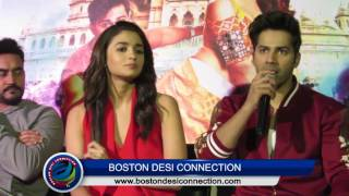 Varun reacts on KISSING Alia Bhatt | Badrinath Ki Dulhania