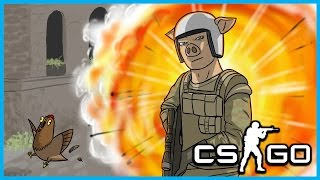 CS: GO Funny Moments & Fails! - Mini's Forehead, Great Memes, and WILDCAT Rage!