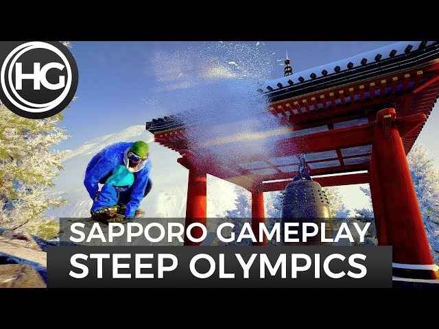 Steep: Road to the Olympics - Sapporo Japan Gameplay