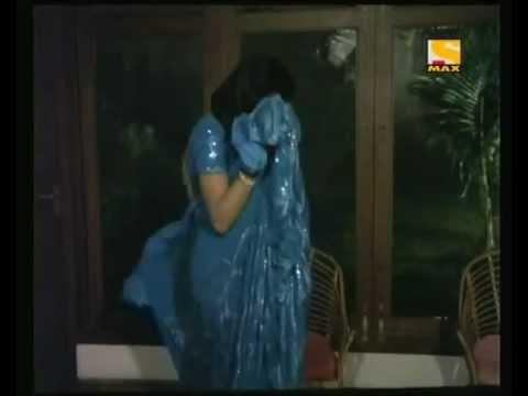 Sridevi hot in blue saree