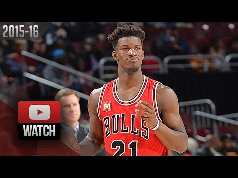 Jimmy Butler Full Highlights at 76ers (2016.01.14) - 53 Pts, Bulls Feed