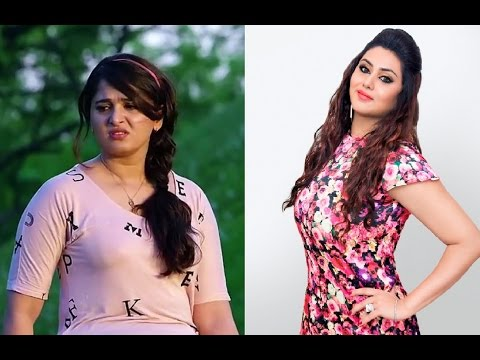 Anushka Asks Advice from Namitha to Reduce Weight?!...