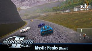 3dfx Voodoo 5 6000 AGP - Need For Speed II SE - Mystic Peaks - Nepal [Gameplay]