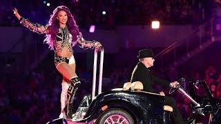 Sasha Banks' WrestleMania 33 entrance makes it onto WWE Music Power 10 (WWE Network Exclusive)