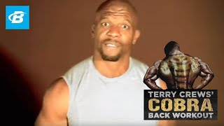 Terry Crews' Cobra Back Workout (SD) - Bodybuilding.com
