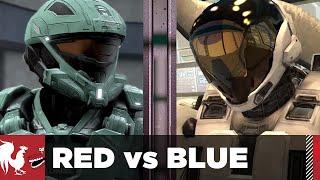 Season 14, Episode 13 - Death Battle: Meta vs. Carolina: Dawn of Awesome   Red vs. Blue