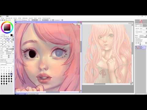 Speedpaint (Paint Tool SAI)Winnie
