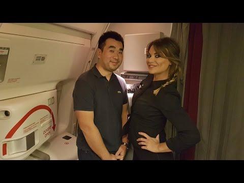 Xxx Mp4 Air France B777 300 ER NEW BUSINESS CLASS Flight Paris To Dubai 3gp Sex