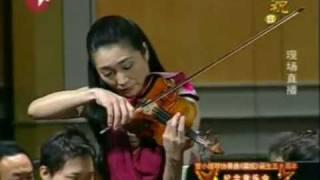 諏訪內晶子 -《梁祝小提琴協奏曲》   Butterfly Lovers Violin Concerto by Akiko Suwanai
