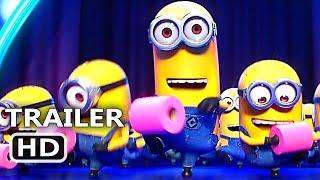 "DESPICABLE ME 3 ""Minions Toilet Paper Dance"" Trailer (2017) Animation Movie HD"
