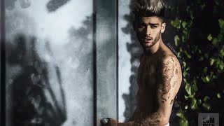 Zayn Malik's complex cover shoot + mind of mine intro