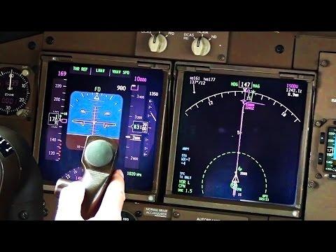 Boeing 747-400 Cockpit Startup & Take-Off from Campinas, Brasil