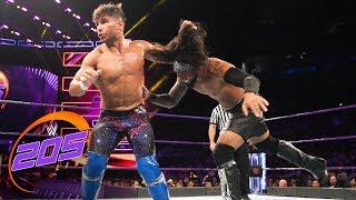 Noam Dar vs. Sean Maluta: WWE 205 Live, Aug. 7, 2018