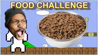 DOG FOOD | Food Challenge #3 | Cat Mario