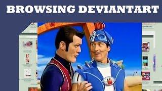 Browsing Deviantart: Meme Art