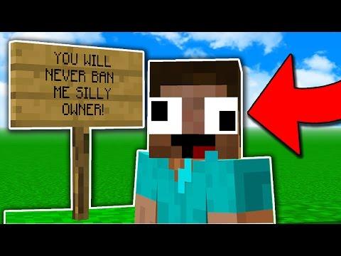 Minecraft Trolling INVINCIBLE MINECRAFT HACKER Minecraft Trolling