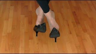 dangle black shoes