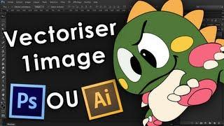 Formation Photoshop CS5 & CS6 - Tuto Photoshop illustrator CS6 - Vectoriser Une Image