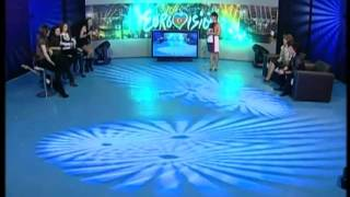 Naila Aziz, Evrovision 2010, Guest-Expert (part 1)