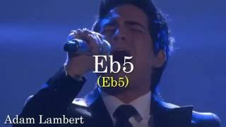 High Notes - Eb5 Battle - Male Singers